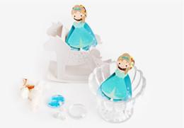 Canada 48pcs / lot personnage de dessin animé sirène cendrillon blanche neige décoration sucette fête mariage bonbons wrap cadeau de remise des diplômes enfants Offre