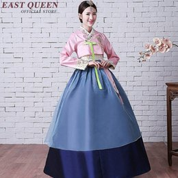 2019 vêtements traditionnels coréens Hanbok coréen traditionnel de style national coréen de vêtements de costume national hanbok de costume traditionnel DD194 C vêtements traditionnels coréens pas cher