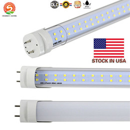 Wholesale led tube fluorescent light bulb - LED T8 Tube 4FT 25w 28w 36W 2800LM SMD2835 192LEDS Light Lamp Bulb 4 feet 1.2m Double row 85-265V led lighting fluorescent