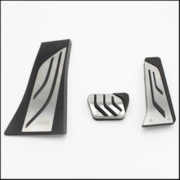 Wholesale bmw pedals - DEE Gas Footrest Modify Pedal Plate Pad AT For BMW X5 X6 E70 E71 E72 F15