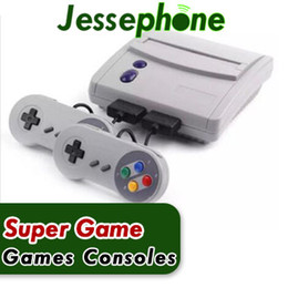 Wholesale 16 Bit Games - 16 Bit Super Mini SFC Game Console Entertainment System 64 Classic Games For SNES with 2 Controllers