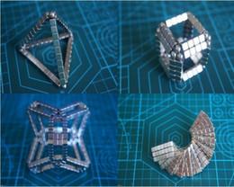 Wholesale Bucky Cubes - 216pcs Adult Fidget cube magic magnetic bucky cubes square bucky ball magnets neocube cubes decompression toys intelligence ki gift