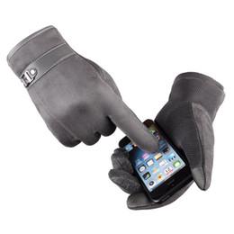 Canada Automne Hiver Hommes Épaissir Chaud Mitaines Thermiques De Cachemire Toucher Des Gants D'écran Toucher pour Smart Phone / Ipad supplier ipad smart Offre