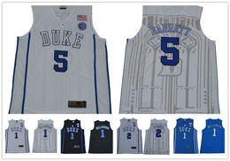 jersey basketball 35 Promo Codes - College Basketball Duke Blue Devils 1  Zion Williamson 5 RJ. 50 0d6764c46