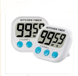 Wholesale Countdown Timer Display - Digital Kitchen Timer with Premium Magnetic Backing for Cooking, Baking and More (LCD Display, Loud Alarm, Countdown) LLFA