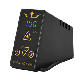Wholesale Mini Tattoo Machine Power Supply - EP-2 Mini Tattoo Power Supply for Tattoo Machine Gun with Power Cable Digital LCD Display for Tattoo Machines Kit