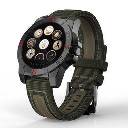 Tracker della bussola online-Sport Bluetooth Smart Watch N10B N10 B con bussola cardiofrequenzimetro impermeabile Smartwatch Fitness Tracker per Android IOS