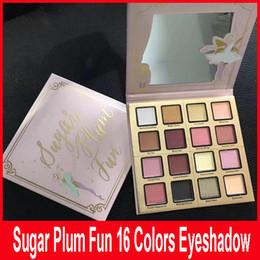 Wholesale Fun Long - Faced Makeup Sugar Plum Fun 16 Colors Eyeshadow Palette Matte and Shimmer Shades Eye Shadow Palette Fairy set