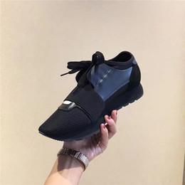 Argentina Zapatos de malla de lujo original Runner populares Patchwork con cordones colores mezclados Moda de corte bajo Zapatos Casual para caminar Mujeres y botas de mens cheap low cut casual boot Suministro