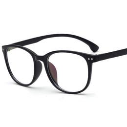 e17f0f3a026 Hot Optical Plain Mirror Full frame Student Eyeglasses Frames Men Women  plastic Eye Glasses Frame for Myopia oculos de grau