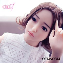 Wholesale Cheap Small Sex Dolls - Joymei 140CM real sex doll pussy japanese hairy vagina sex doll cheap silicone mini sex doll