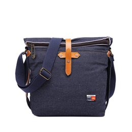Wholesale trend big bags - Trend Woman Denim Bag Retro Big-capacity Single Shoulder Bag Fashion Multi-function Travel Inclined Shoulder