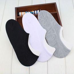 Impresión termo online-Calcetines de hombre 10 pcs / lot Calcetines de mujer Boca baja Barco invisible Sports Slip de algodón Socksc con zapatillas estampadas Sports Thermo