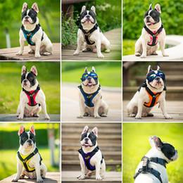 Viaggiare a piedi online-Cinghie pettorali per cani Regolabile Traction Rope Easy Travel Walking Corsa con manici Guinzagli Puppy Portable Harnesses Pet 32yb4 bb