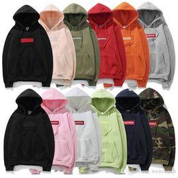 Luxury brand sup box logo hoodie cotton kanye west Windbreaker jacket mens designer jackets off fear god white vetements