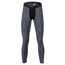Wholesale Men Yoga Spandex - Sports fitness running trousers men comfortable quick-drying yoga pants breathable sports pants leggings yoga male trousers