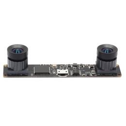 960 P Synchronization Grande Angular módulo de câmera USB de 180 graus fisheye lente dupla OV9750 CMOS USB2.0 OTG Webcam com cabo de 1 m de