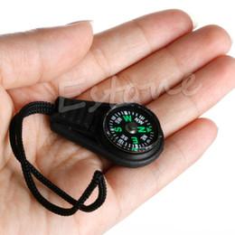 Wholesale wholesale mini compasses - 20pcs lot Black Zipper Pull Mini Compass Backpack Bag Strap Charm Sport