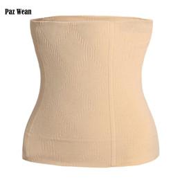 Wholesale Waist Trimmer Belt For Women - Waist Corset For Slimming Tummy Tuck Belt Belly Body Shaper Control Underwear Girdle Shapewear Tummy Cincher Trimmer For Women