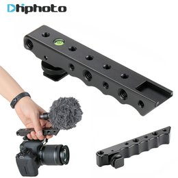"Wholesale top handles dslr - Ulanzi Video Stabilizing Top Handle Cold Shoe Extender Plate with 1 4"" 3 8"" Thread for Canon Nikon Olympus Pentax DSLR Camera"