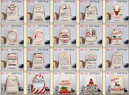 Christmas Bag Santa Sack Leinentasche für Geschenke Santa Sack spezielle Lieferung Extra große Größe 27,6