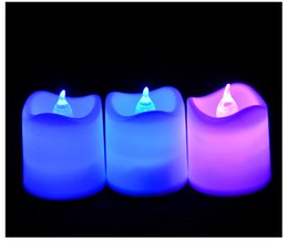 Wholesale Toy Atmosphere - LED children's toys plastic Christmas atmosphere gifts luminous toys electronic candles