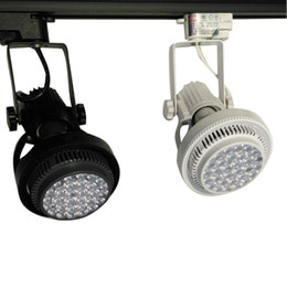 Wholesale Aluminium Grades - Die casting aluminium led track slide spotlights 35W good for top grade commercial lighting with 2 wires 24 degree beam angle