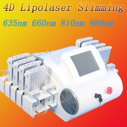 Wholesale mitsubishi system - portable lipo laser machine Japan imported mitsubishi diodes fat removal system lipo laser effective slimming machine