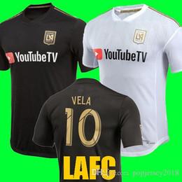 83c821832 Thailand quality 2018 Carlos Vela Los Angles FC Soccer Jerseys 18 19 Home  away LAFC GABER ROSSI CIMAN ZIMMERMAN Black Football soccer Shirt