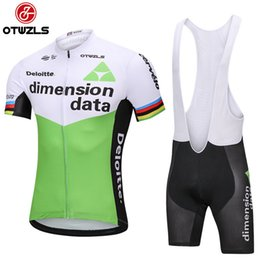 Wholesale Mountian Bikes - DELOITTE 2018 Pro Team Mens Cycling Jersey Sets MTB Summer Bike Bicycle Clothing Breathable Mountian Bicycle Clothes Ropa Ciclismo Quick-Dry