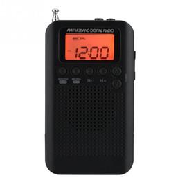 2019 stations de radios Radio AM FM stéréo Radio numérique à 2 bandes Réglage de la radio Pocket ICD peut stocker jusqu'à 58 stations stations de radios pas cher
