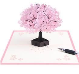 Envío gratis hecho a mano pop-up tarjetas de felicitación de San Valentín tarjeta del día de boda para la fiesta de cumpleaños tarjeta de felicitación como Giftsdecorations Creative ster desde fabricantes