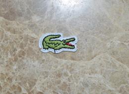 Nouveau motif de crocodile animal patchs brodés pour couture patchs de vêtements de vêtements fer sur couture accessoires ? partir de fabricateur