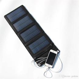 Universal 7W 5.5V Panel solar plegable plegable Panel solar plegable Cargador de batería Cargador móvil del teléfono celular desde fabricantes