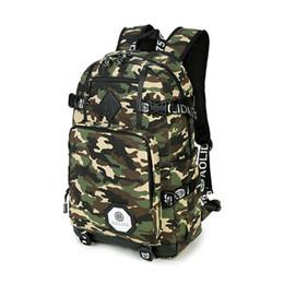 garçons adolescents Promotion Nouveau Camo College School Backpacks Sacs à bandoulière pour les adolescents Filles Garçons Voyage Sac à dos Daypack Oxford Camouflage Sacs Scolaires