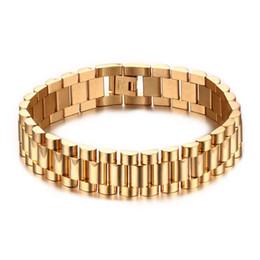 Valentin cadeau mixte ordre * marque nouvelle hommes en acier inoxydable bracelet de montre bracelet de mode bijoux de mode bracelets de bracelet de poignet 201 ? partir de fabricateur