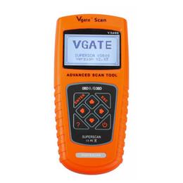 Escáner vgate obd online-VGATE SCAN VS600 para todos los vehículos OBDII OBD2 EOBD OBD CAN Code Scanner Herramienta de diagnóstico automotriz