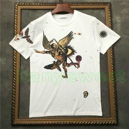 boa qualidade camisetas Desconto 2018 marca Hot clothing homens camiseta de manga curta t camisa de boa qualidade t-shirt do diabo do crânio impressão Designer t-shirts Camiseta tee tops