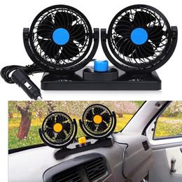 Canada 12V Mini Ventilateur De Voiture Électrique À Faible Bruit Climatiseur De Voiture D'été 360 Degrés Rotation 2 Gears Réglable Ventilateur À Air De Refroidissement cheap air conditioner car 12v Offre
