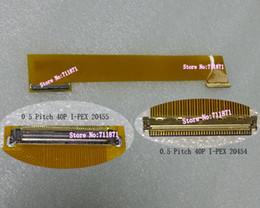 Câble d'extension d'écran lcd en Ligne-I-PEX 40P 10.1 14.0 14.1 15.6 pouces LED rallonge écran LCD 40 broches mâle à femelle LED écran LCD connecteur d'extension de câble