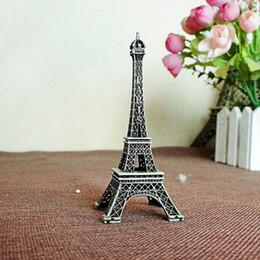 torre eiffel livre Desconto 32 cm De Metal Bronze Paris Torre Eiffel Artesanato Estatueta Estátua Liga Vintage Modelo de Decoração Para Casa Frete Grátis ZA5832