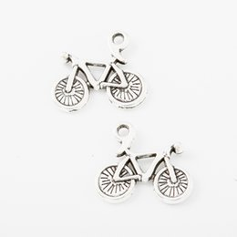 62 unids bicicleta Vintage plata aleación de zinc colgantes de metal para diy joyería que hace 4876 desde fabricantes