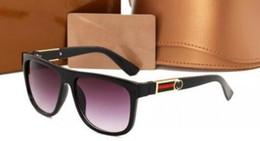 Graue marke sonnenbrille online-braun grau UV400 Männer Frauen Draving Marke Designer Mode Lunette Occhiali Sonnenbrille 3880