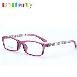 Wholesale Spectacles Frames Wholesale Kids - Ralferty Kids Optical Glasses Frames Boy Girl Myopia Prescription Eyewear Child Spectacle Frame Student Square Eyeglasses 8804o