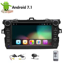 gp toyota Promo Codes - Wireless Rear Camera+EinCar Android 7.1 8 Core Autoradio In Dash Car DVD Player In Dash GPS 2Din Car Stereo Radio Bluetooth Headunit