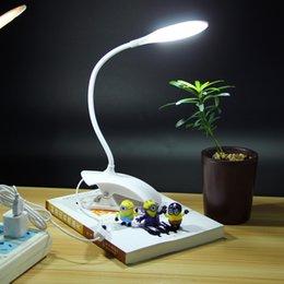 Wholesale Learn Lamp - New led lamp creative clip book lamp bedroom bedside lamp children eye learning desk light J03