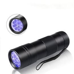 Ultraviolette LED-Taschenlampe 12 LED-UV-Taschenlampe Haustiere Urin- und Fleckendetektor Handheld-Schwarzlicht zum Auffinden von Flecken auf Teppichen oder Kleidern von Fabrikanten