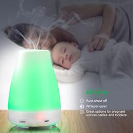 100 мл 7 Цветной масляный диффузор Портативный ароматический увлажнитель Диффузор Светодиодный ночной светильник Ультразвуковой холодный туман Ароматерапия свежим воздухом от