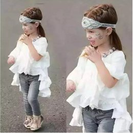 Wholesale Princess Clothing For Toddler Girls - baby girl cute dresses fashion lace dress for kids princess party tutu sundress short sleeves maxi outfits toddlers clothes 3 colors
