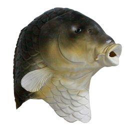 Divertente Pesce lattice Testa completa Mask Party Animal alta qualità Maschera Costume da abiti di fantasia costumi pesce fornitori